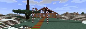 Start des Minecraft Kurzprojektes – XXL Lebkuchenhaus