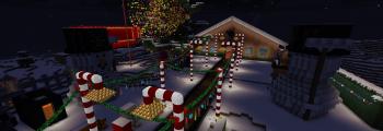 Ende des Minecraft Kurzprojektes – XXL Lebkuchenhaus