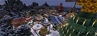 Ende des Minecraft Kurzprojektes – Weihnachtsmarkt